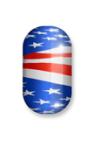 Metallic American Flag