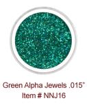 Green Alpha Jewels NNJ16