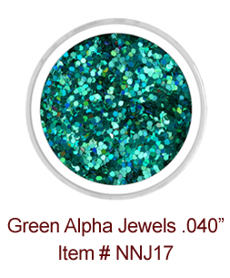 Green Alpha Jewels NNJ17