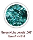 Green Alpha Jewels NNJ18