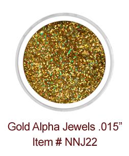 Gold Alpha Jewels NNJ22