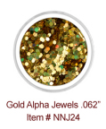 Gold Alpha Jewels NNJ24